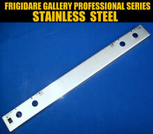 STAINLESS STEEL KNOB PANEL FRIGIDAIRE GALLERY PROFESSIONAL SERIES GAS OVEN RANGE