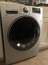 LG WM3488HS 2 3 cu  ft  Compact All In One Washer Dryer Combo   Silver