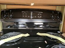 GE Electric Range Model  JB250DFBB 30inch 5 3 Cu