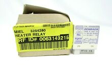 Miele Dishwasher Heater Relay 5254280 New