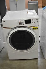 GE GFD45ESSMWW 27  White Front Load Electric Dryer 7 5 Cu Ft   42753 HRT