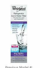 2 Pack W10295370A W10295370 Whirlpool Refrigerator Water Filter FILTER 1