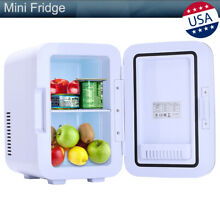 6 Liter Electric Mini Portable Fridge Cooler   Warmer Refrigerator Freezer 8 Can