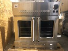 Blue Star BWO30AGS 30  Single French Door NG Wall Oven