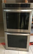 KitchenAid Smart Oven  30  Stainless Steel Double Convection Wall Oven