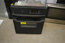 GE JRP20BJBB 24  Black Single Electric Wall Oven 2 7 Cu Ft  NOB  13794