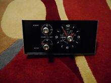 Tappan Frigidaire Oven Clock Timer NEW Vintage Part With Scratches USA   B 1