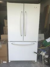 White Maytag French Door Refrigerator 68x35x31 Year 2005