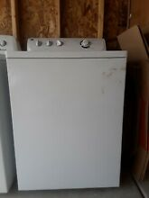 GE Top Load Washer   White  Barely used