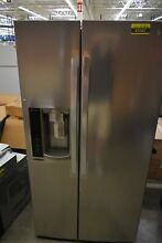 LG LSXS26326S 36  Stainless Side By Side Refrigerator  43582 HRT