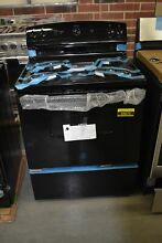 GE JBS160DMBB 30  Black Freestanding Electric Range NOB  43670 HRT