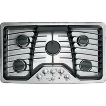GE PGP976SETSS 36  Stainless Gas Cooktop NOB  28377 MAD
