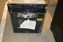 Whirlpool WOS51ES4EB 24  Black Single Electric Wall Oven NOB  17056 MAD