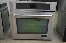 Jenn Air JJW2430WP 30  Stainless Electric Single Wall Oven NOB  1157 MAD