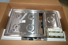 Kitchenaid KCGD506GSS 36  Stainless Gas Downdraft Cooktop NOB  26060 MAD