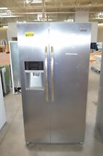 Frigidaire FGHS2631PF 36  Stainless Side by Side Refrigerator  24625 CLN