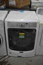 Maytag MED5500FW 27  White Front Load Electric Dryer NOB  25722 CLN