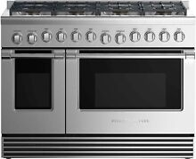 Fisher Paykel RGV2488NN 48  Stainless Professional Gas Range NOB T2  43177 HRT