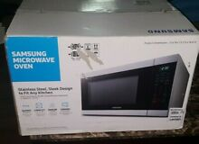 NEW Samsung Stainless Steel Microwave Oven   MS19N7000AS