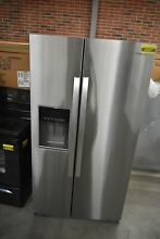 Whirlpool WRS571CIHZ 36  Stainless Side By Side Refrigerator  45667 HRT