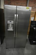 GE GSS25IYNFS 36  Stainless Side By Side Refrigerator  45669 HRT