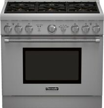 Thermador PRG366GH 36  Stainless Pro Style Gas Range NIB HRT