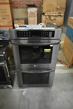 LG LWD3063BD 30  Black Stainless Electric Double Wall Oven  46034 HRT