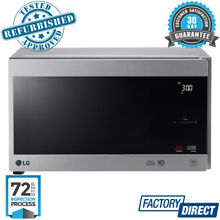 LG NEOCHEF MICROWAVE INVERTER STAINLESS STEEL OVEN COAT 1000W 25L LITRE MS2596OS
