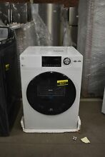 GE GFD14ESSNWW 24  White Front Load Electric Dryer NOB  46311 HRT