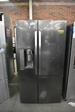LG LSXS26366D 36  Black Stainless Side by Side Refrigerator  46485 HRT