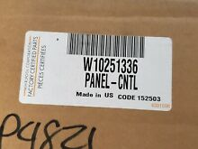 Whirlpool Washer Control Panel Part  W10251336 Maytag Centennial