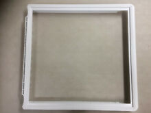 FRIGIDAIRE 241969501 SHELF FRAME WITHOUT GLASS REFRIGERATOR MEAT PAN COVER
