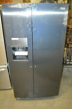 Frigidaire Gallery FGSC2335TD Side by Side Refrigerator Black Stainless Steel