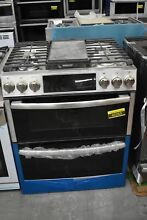 GE Profile PGS960SELSS 30  Stainless Slide In Dbl Oven Gas Range NOB  42263 HRT
