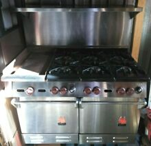 WOLF 48 INCH DOUBLE OVEN RANGE WITH GRIDDLE