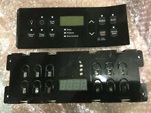 Kenmore Electrolux Oven Range Electronic Control Board   Overlay Black 318296802