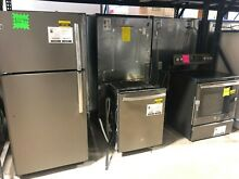 GE Kitchen Package Slate Refrigerator  Electric Range  Dishwasher CLW  10