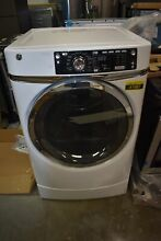 GE GFD49ERSKWW 28  White Front Load Electric Dryer 1 6 Cu  Ft  NOB  41987 HRT