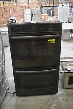 GE Profile PT7550BLTS 30   Black Stainless Double Wall Oven NOB  44695 HRT