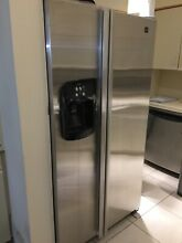 ice maker Stainless steel Maytag refrigerator In great condition