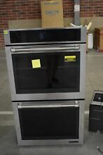 Jenn Air JJW2830DP 30  Stainless Pro Style Double Wall Oven NOB  44985 MAD