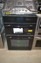 Jenn Air JMW3430WB 30  Black Microwave Oven Combo Wall Oven  1151 MAD