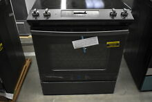 GE JS645FLDS 30  Black Slate Slide In Electric Range NOB  38693 HRT