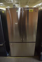 GE Cafe CWE23SSHSS 36  Stainless CD French Door Refrigerator  30046 HRT