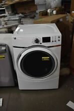 GE GFD45GSSMWW 27  White Front Load Gas Dryer NOB   48562 HRT