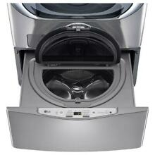 REFURBISHED LG 29 in 1 0 cu ft SideKick Pedestal Washer Graphite Steel WD200CV