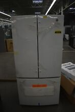 GE GNE25JGKWW 33  White French Door Refrigerator NOB  49100 HRT
