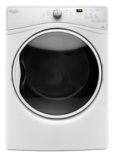 Whirlpool Gas Dryer with Steam WGD85HEFW 27  7 4 cu  ft  8 Cycle   LOCAL PICK UP