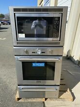 THERMADOR PODMW301J 30  PRO SERIES TRIPLE COMBO BUILT IN WALL OVEN