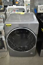 Whirlpool WGD9620HC 27  Chrome Shadow Front Load Natural Gas Dryer NOB  49731